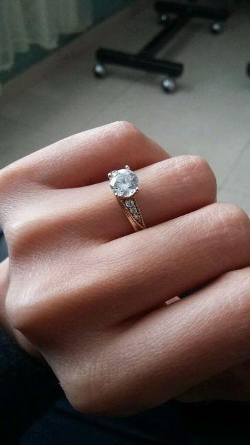 Les presumo mi anillo mis  topper,  cupcakes e invitaciones - 3