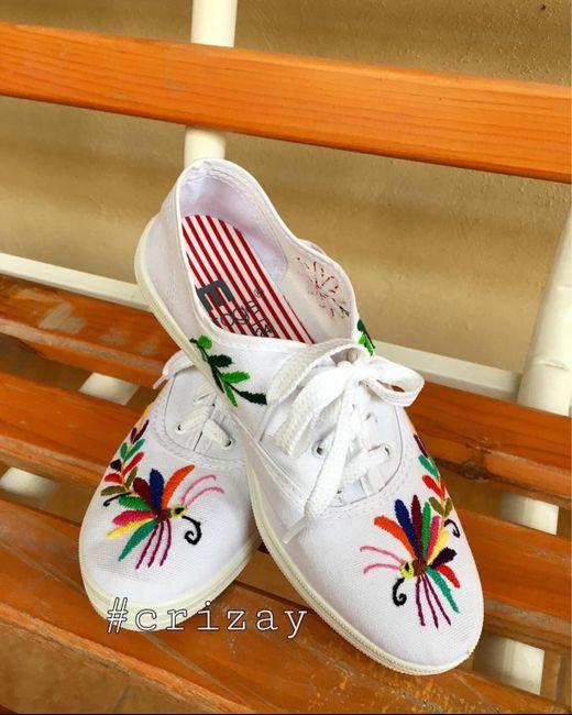 Zapatillas de novia 👰🏻 👠 5