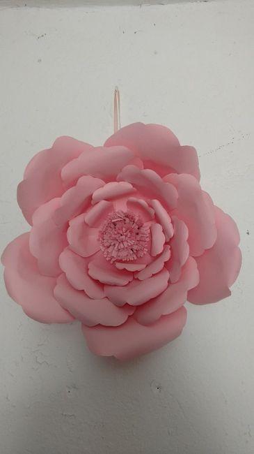 Diy-flores gigantes de papel 1