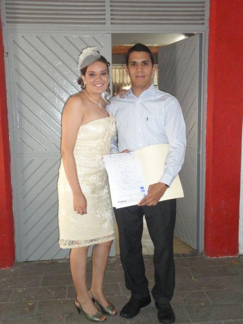 vestido y tocado de boda civil - foro moda nupcial - bodas.mx