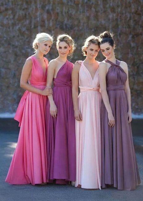 Vestido Convertible Multiforma para las Damas. - Foro Moda Nupcial ...