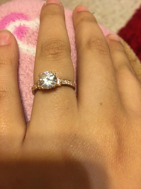 1a68c156bfed Anillo de compromiso en oro rosa   💍 - Foro Antes de la boda ...