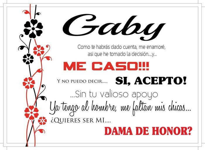Invitaciones para mis damas de honor foro manualidades - Cosas que preparar para una boda ...
