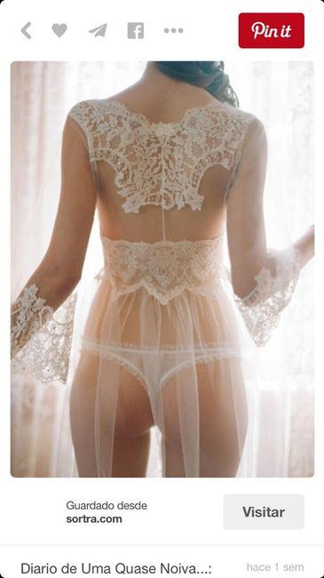 90bf85456 La ropa de la noche de boda