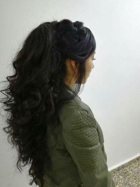 ¿Peinado recogido o semirecogido? 2
