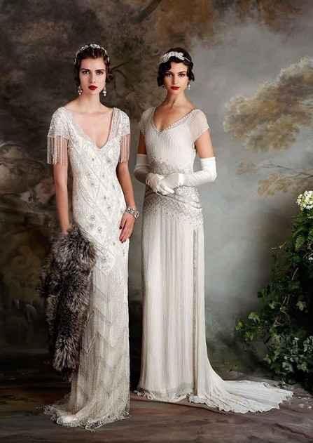 Vestido Damas boda 20s