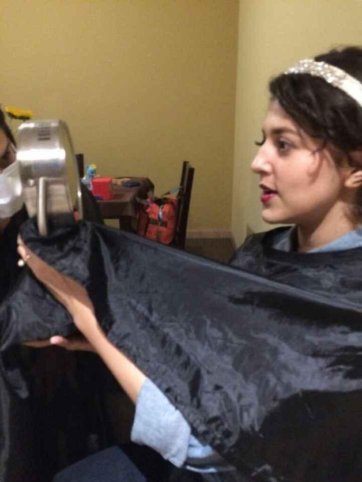 Prueba de peinado y maquillaje,  que emoción - 4