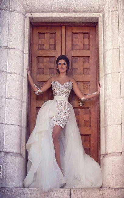 73f517121 Vestidos desmontables - Foro Moda Nupcial - bodas.com.mx