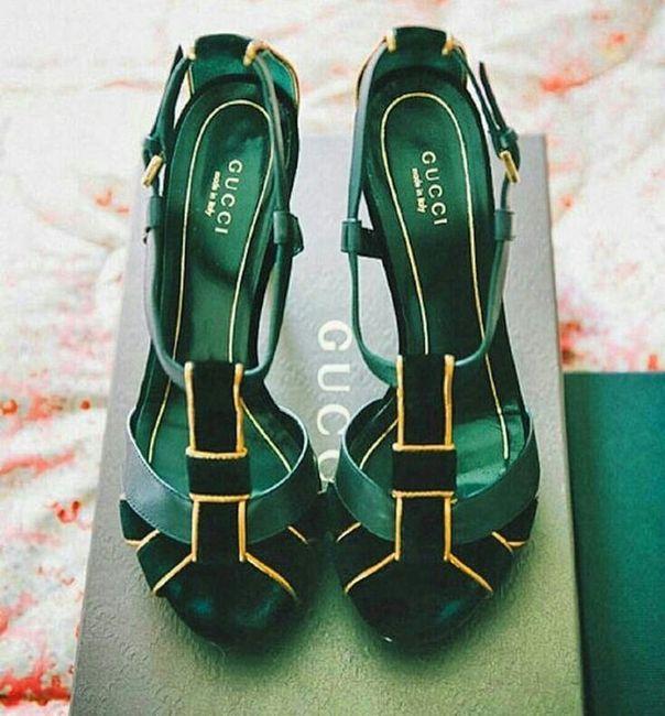 zapatos verdes para la boda 💚 - foro moda nupcial - bodas.mx