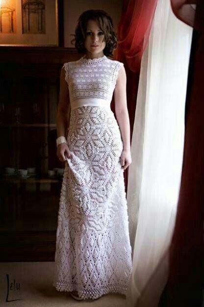 vestidos de novia crochet - foro moda nupcial - bodas.mx