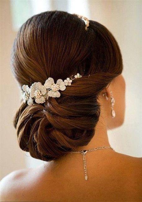 Peinados bonitos para boda civil