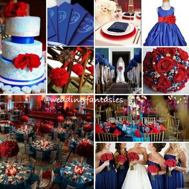 Dark Red Wedding Decorations: Damas De Honor! Color
