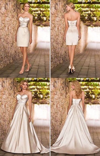 d54dc563fea Hola un vestido de dos pz estaría genial mira te dejo estas ideas así  tendrías las doos opciónes en una