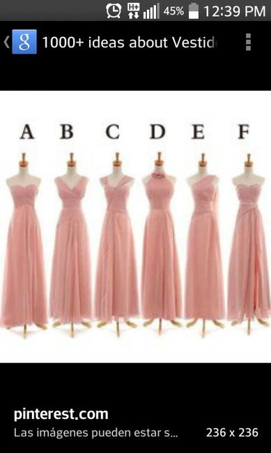 De que color el vestido para las damas ? - Foro Moda Nupcial - bodas ...