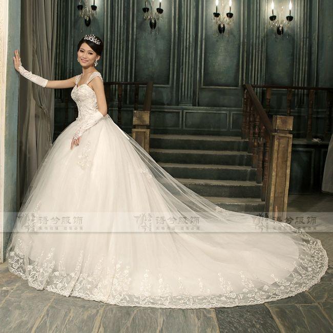 Vestidos de novia muy esponjados