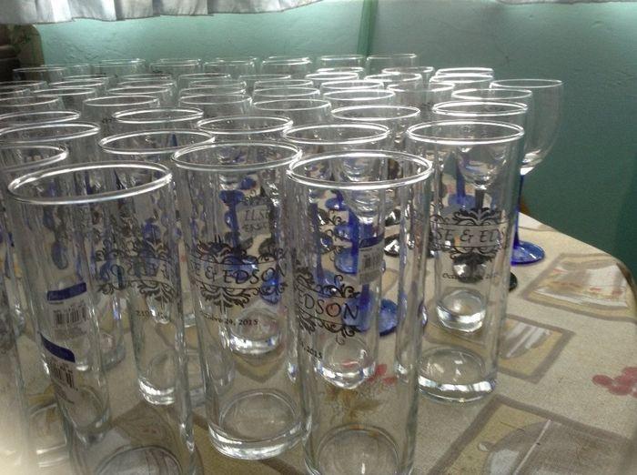 Vasos y copas serigrafiadas foro manualidades para bodas for Vasos y copas