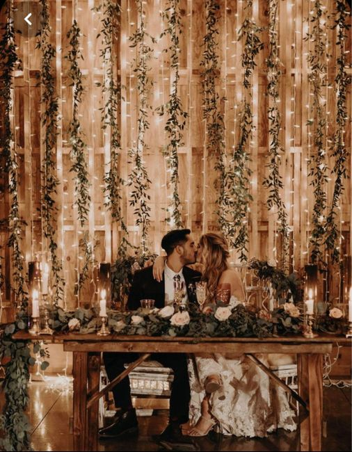 Ideas de decoración de boda en Jardín 49