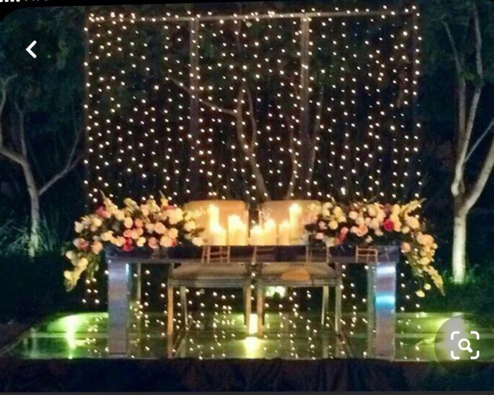 Ideas de decoración de boda en Jardín 53