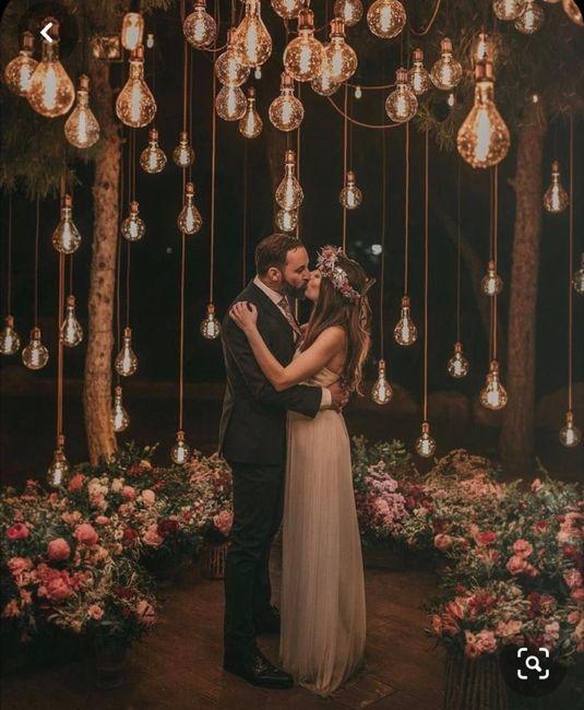 Ideas de decoración de boda en Jardín 54