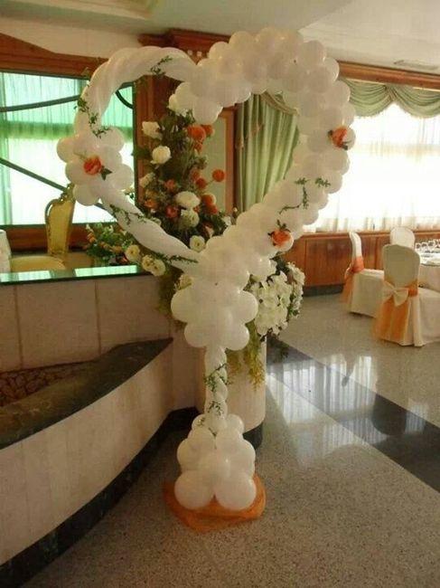 decoración para salón con globos! - foro bodas.mx - bodas.mx