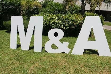 Letras en la boda foro organizar una boda - Letras grandes decoradas ...