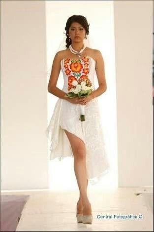 71541db468 Ideas de vestido para boda maya o prehispanica - Foro Moda Nupcial ...