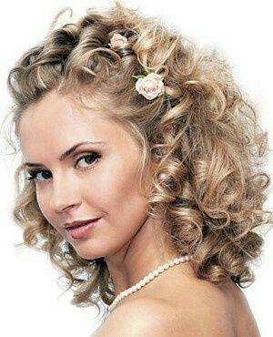 Peinados Para Novia Cabello Rizado Foro Moda Nupcial