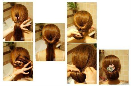 Peinados f ciles paso a paso foro belleza - Tutorial de peinados ...