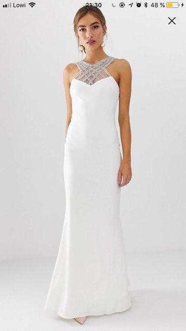 Vestido de boda civil, ayuda! 1