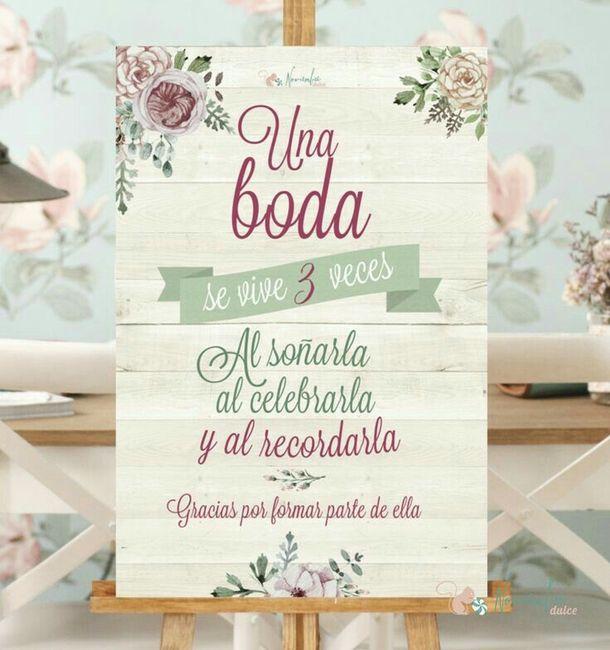 Letreros de bienvenida a la recepci n foro organizar - Organizar mi boda ...