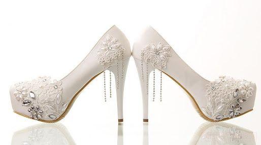 zapatos de novia - foro belleza - bodas.mx