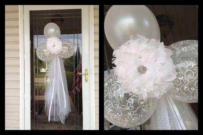 Decora la puerta de tu casa el d a de tu boda foro - Manualidades para una boda ...