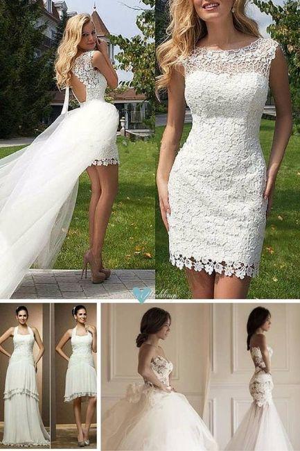 vestidos de novia desmontables - foro antes de la boda - bodas.mx