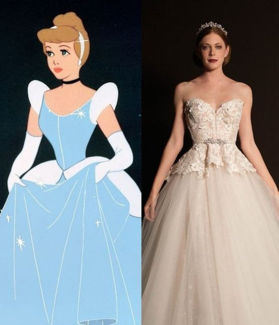 Vestidos de novia inspirados en las princesas de Disney 3