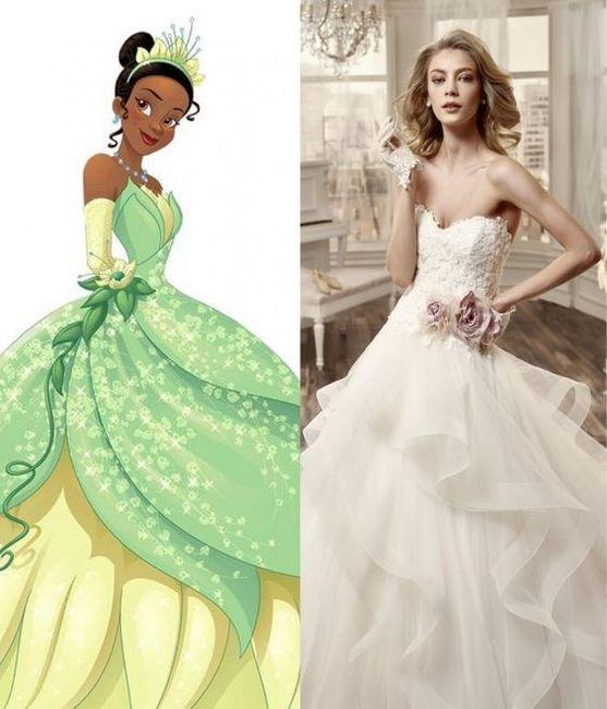 Vestidos de novia inspirados en las princesas de Disney 8