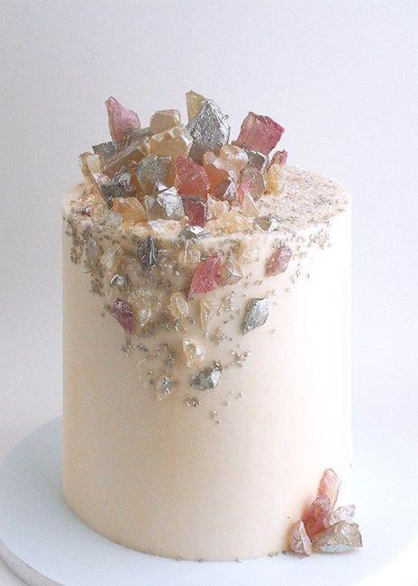 """Hermosos pasteles de """"cuarzo"""" 13"""