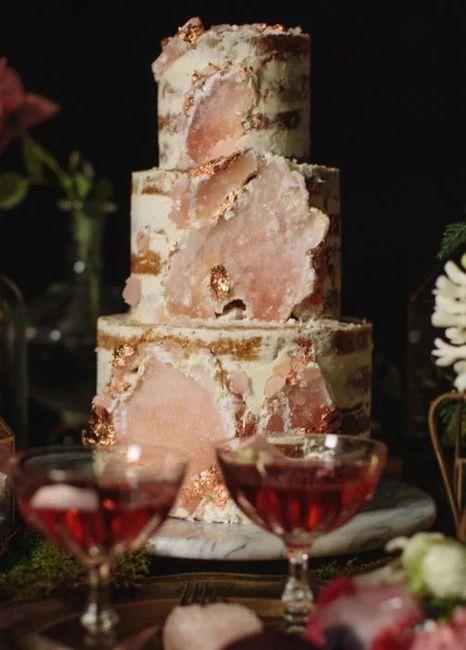 """Hermosos pasteles de """"cuarzo"""" 16"""