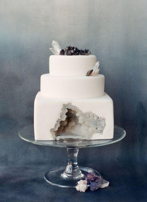 """Hermosos pasteles de """"cuarzo"""" 23"""