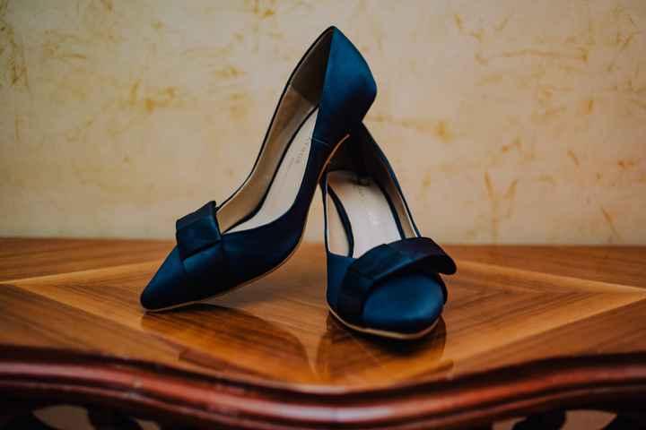 Zapatillas azules - 1