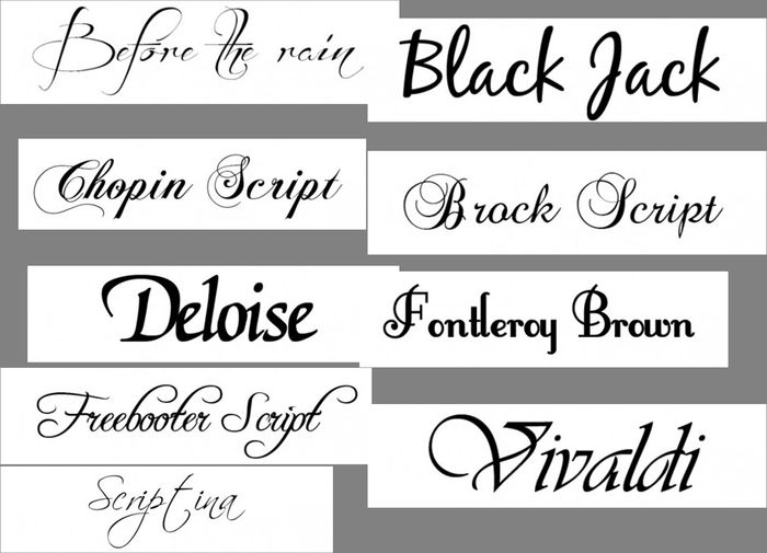Tipografias mas empleadas para invitaciones Foro Manualidades para