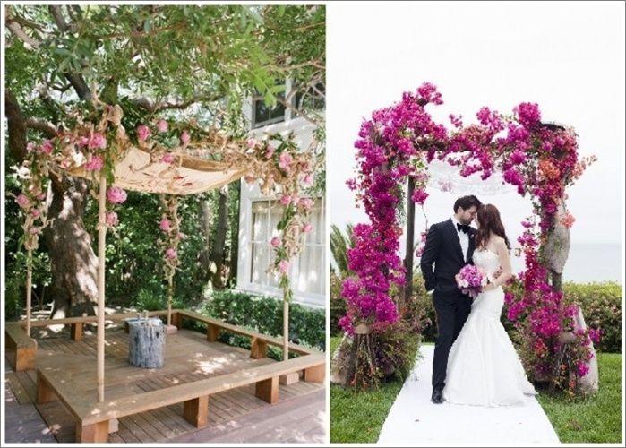Entradas y altares decorados para jardines foro for Jardines decorados para bodas