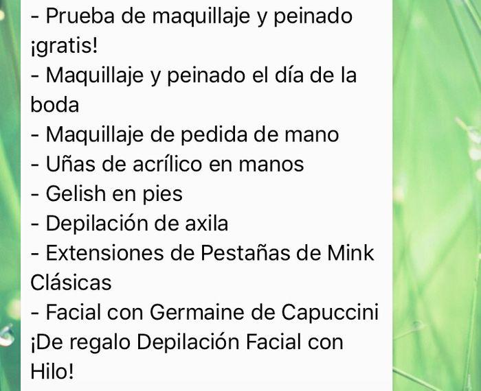 ¿maquillaje convencional o con aerógrafo Temptu? - 1