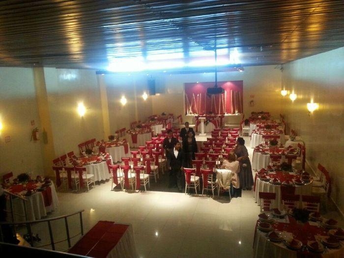 Ya elegimos sal n foro organizar una boda for Organizar salon