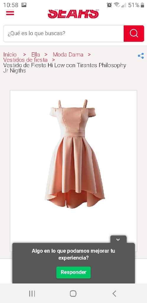¿De qué color el vestido de la boda civil? - 1