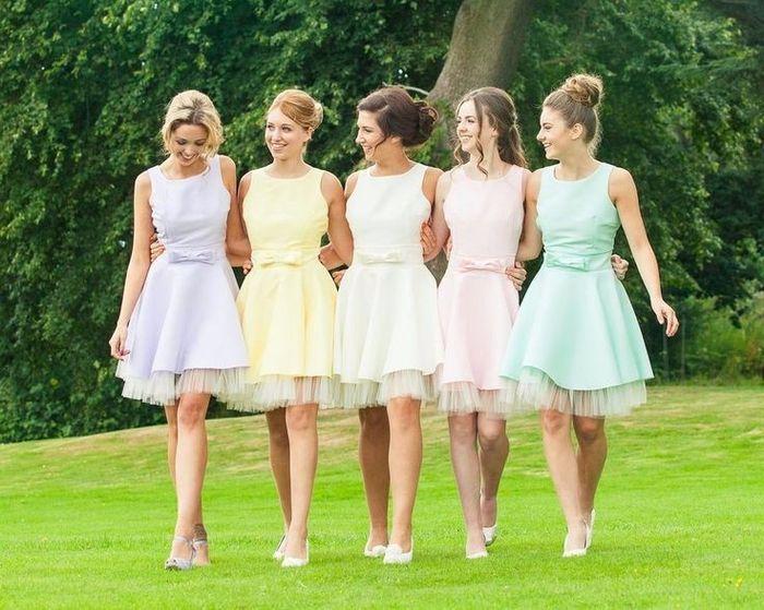 dc7f0d83a qué vestido elegirías para tus damas de honor  - Foro Organizar una ...