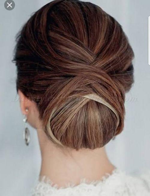 ¿Peinado recogido o semirecogido? 12