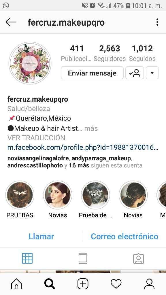 Recomendación maquillaje y peinado en Querétaro  - 1