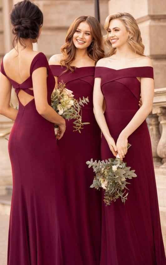 ¿Que color elegir para los vestidos de las damas? - 2