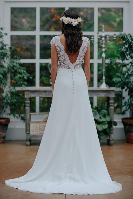 vestido de novia espalda v - foro moda nupcial - bodas.mx