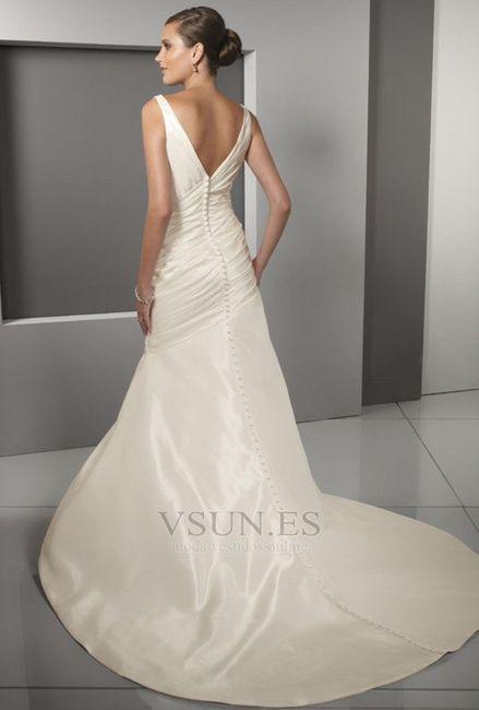 vestidos de novia espalda v